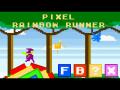Pixel Rainbow Runner