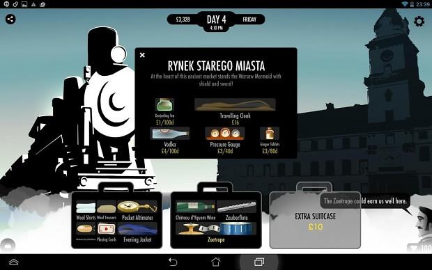 Tablet screenshot