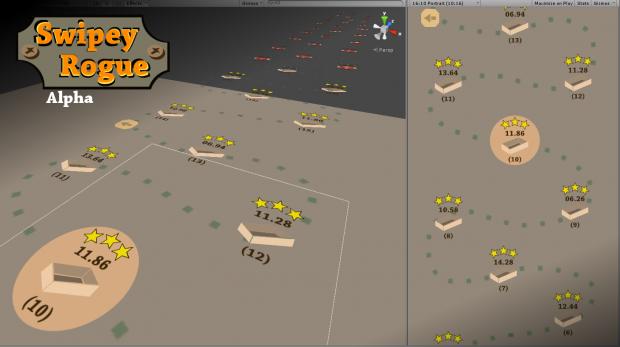 Swipey Rogue - update 04, dev screen 02