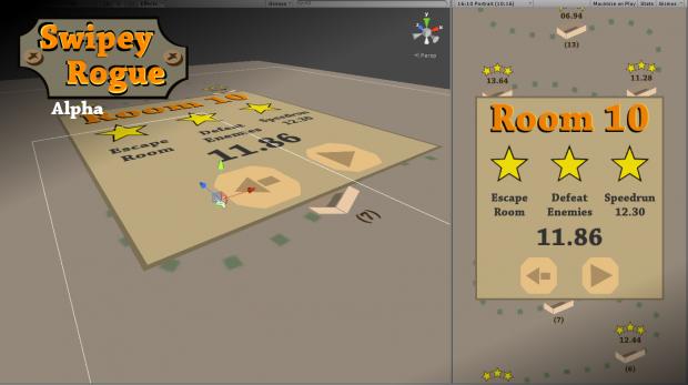 Swipey Rogue - update 04, dev screen 03