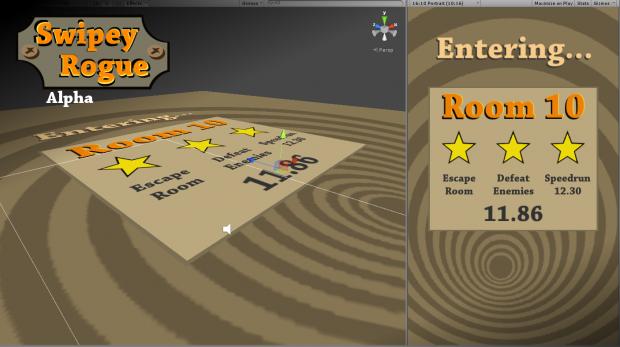 Swipey Rogue - update 04, dev screen 04