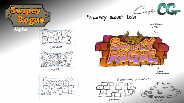 Swipey Rogue - update 05, dev screen 01