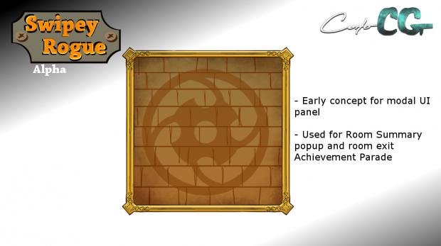 Swipey Rogue - update 05, dev screen 04