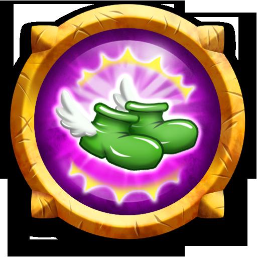 Swipey Rogue - Perk: Run Faster