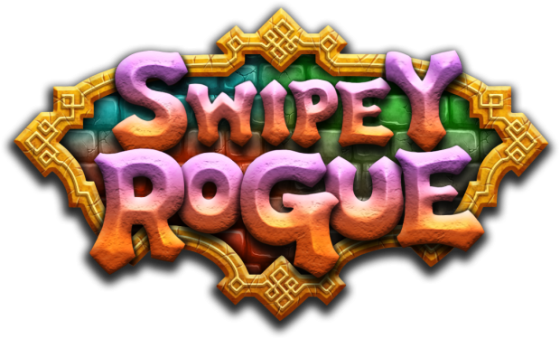 Swipey Rogue (mobile arcade/rogue) - Game Logo
