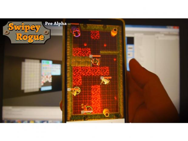Swipey Rogue (dev progress 05) - mobile gameplay