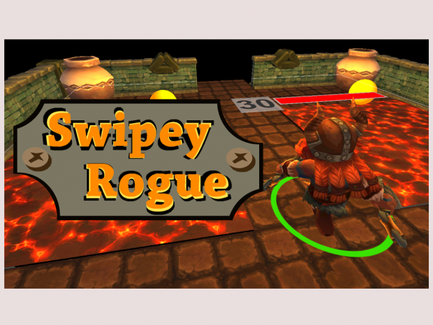 Swipey Rogue (mobile arcade/rogue)