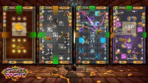 Swipey Rogue Press Kit - Free Running Gameplay Collage 2