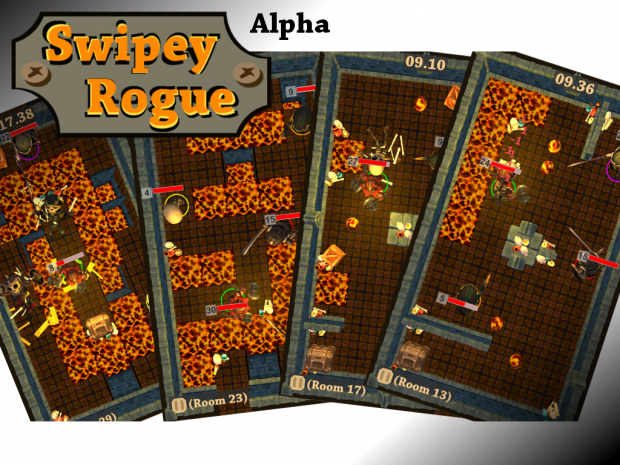 Swipey Rogue: Devlog 06 preview