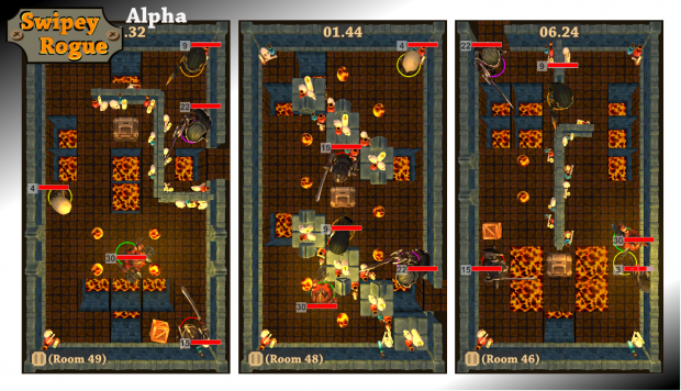 Swipey Rogue: Lava world preview screenshots 01