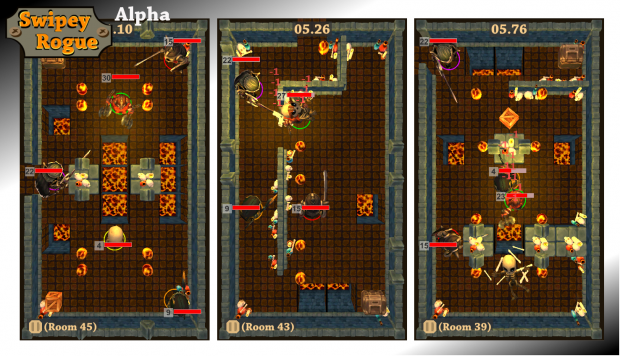 Swipey Rogue: Lava world preview screenshots 02