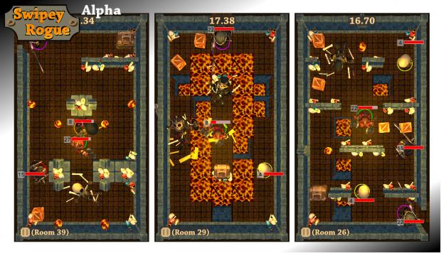 Swipey Rogue: Lava world preview screenshots 03