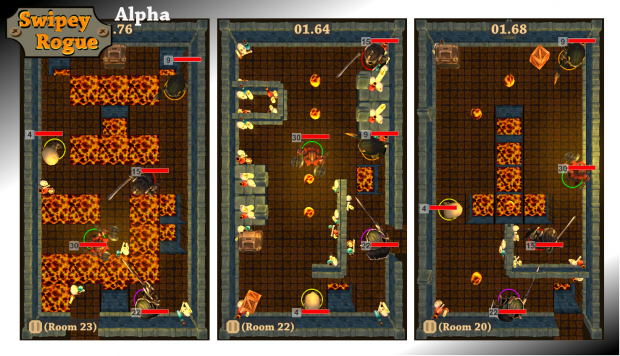 Swipey Rogue: Lava world preview screenshots 04