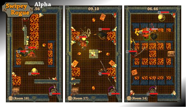Swipey Rogue: Lava world preview screenshots 05