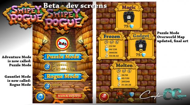 Swipey Rogue - devlog 15 - screenshot 01
