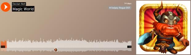 Swipey Rogue - devlog 19 - soundtrack 01