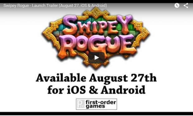Swipey Rogue - Launch Trailer preview