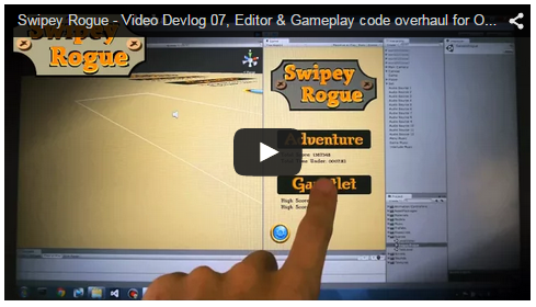 Swipey Rogue - video update 07 preview