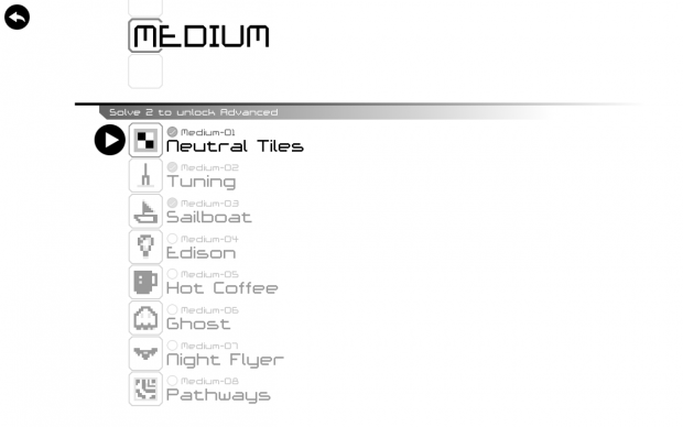 Selecting a Medium-Difficulty Puzzle