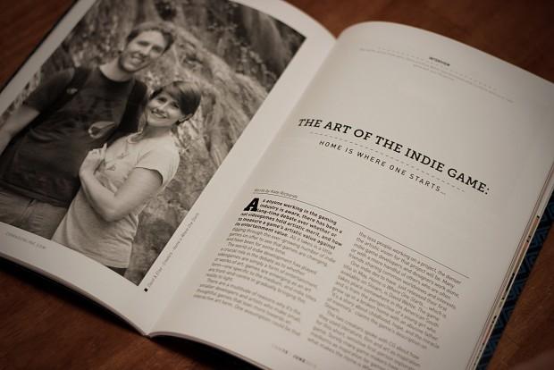 Magazine interview with CGM