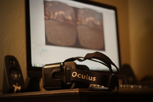 Oculus support added