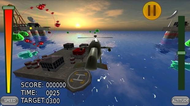 In-game Ocean level