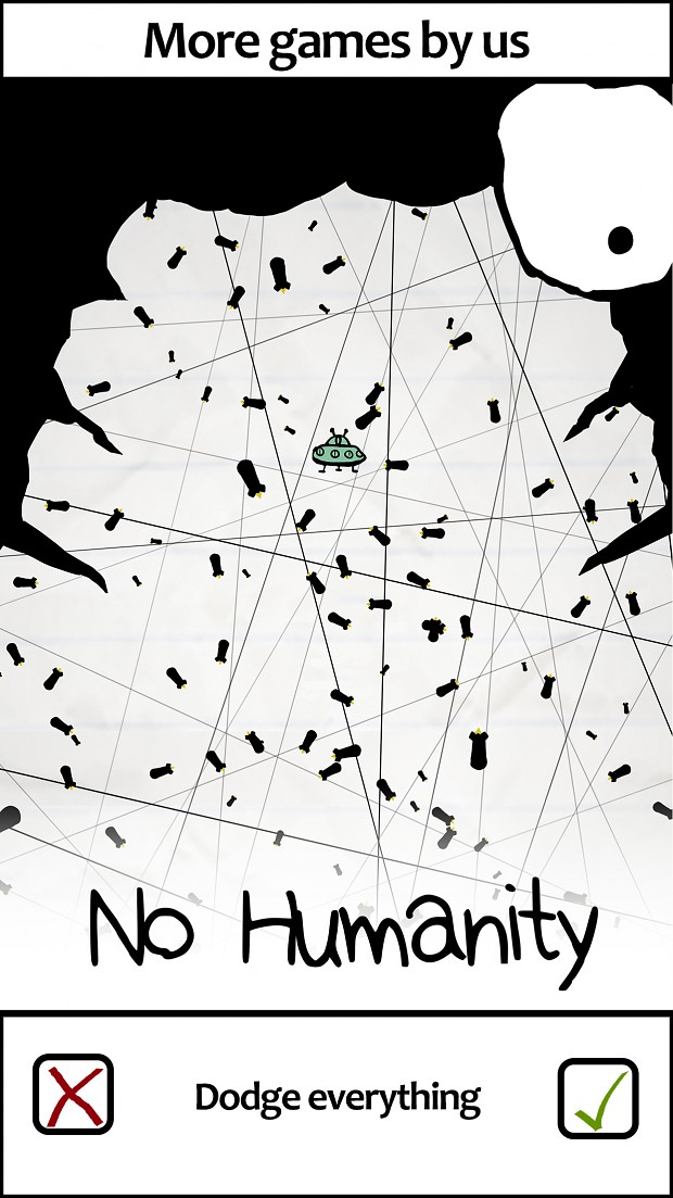 No Humanity House Ad