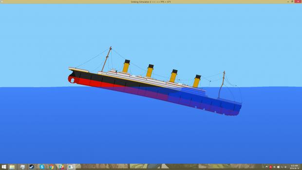 Sinking sim