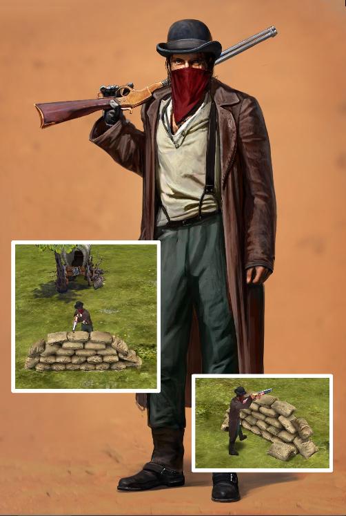 Bandit with rifle