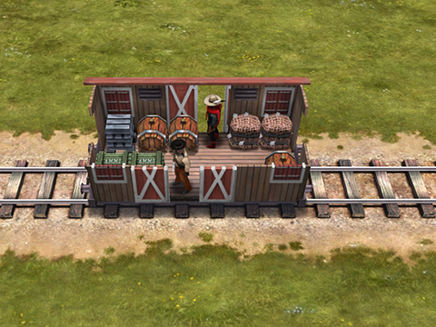 Small cargo carriage