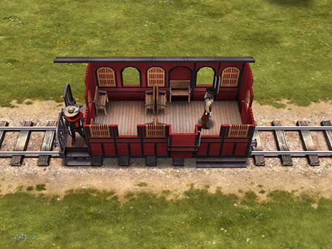 Small passenger carriage