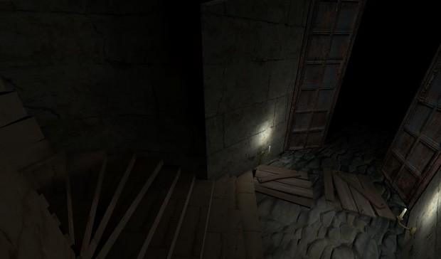 Into The Mansion - Stairs