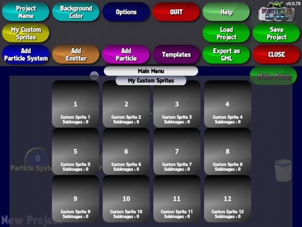 Custom Sprite overview
