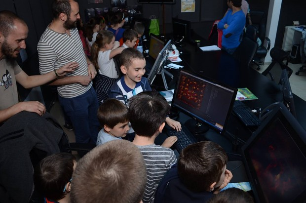 Young Game Testers
