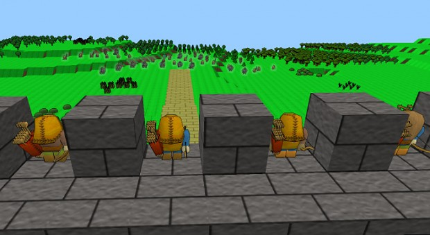 Lord of Dwarves Constructing Pictures