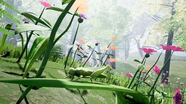 Grass is now 3D! Climb atop it, munch on it or make it your home!