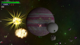 Asteroid Miner gameplay shot
