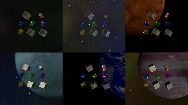 Asteroid Miner Pickup Items