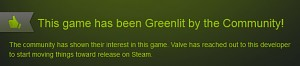 Greenlit thumbup
