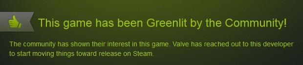 Greenlit thumbup