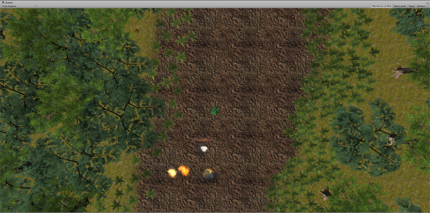 Jungle level 1 gameplay screen shot