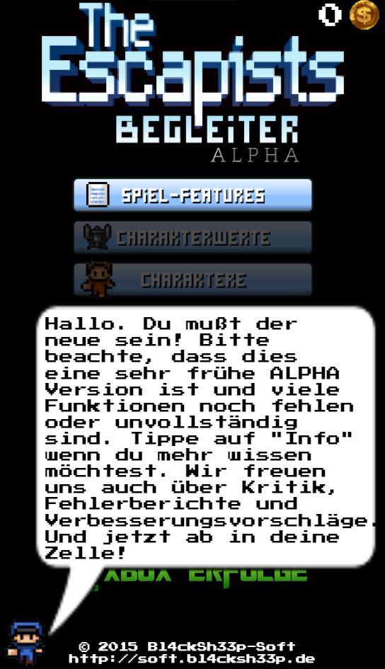 ALPHA Title Screen