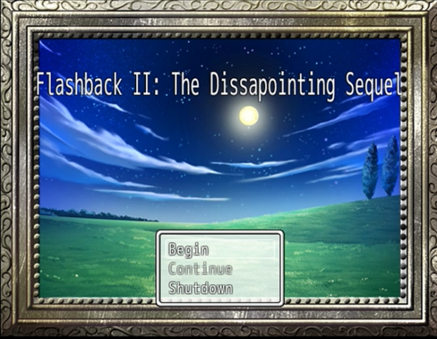 Flashback II: The Disappointing Sequel