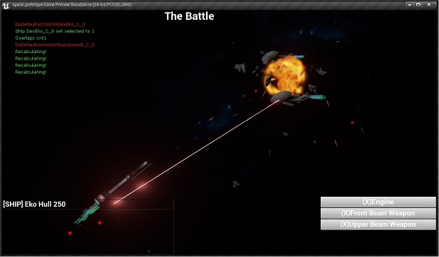The test battle