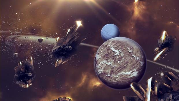 Planets concept art