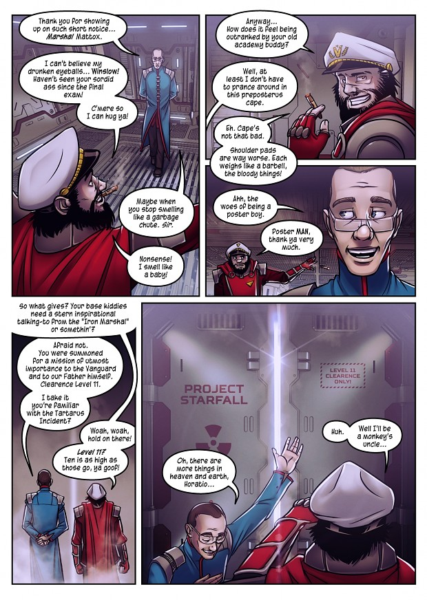 «Project Starfall» Comic Preview #1