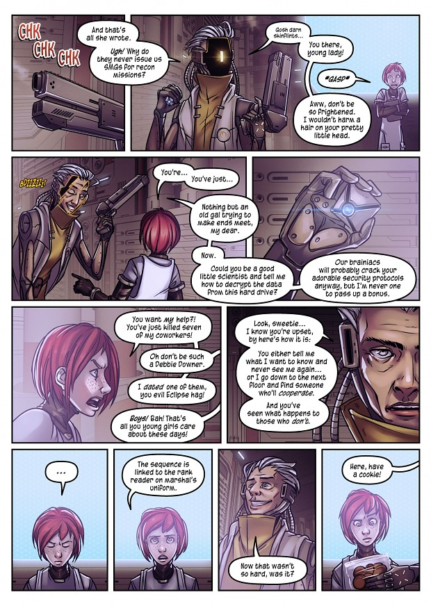 «Project Starfall» Comic Preview #2