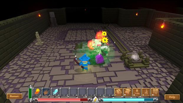 Reikon Dungeon Screenshot