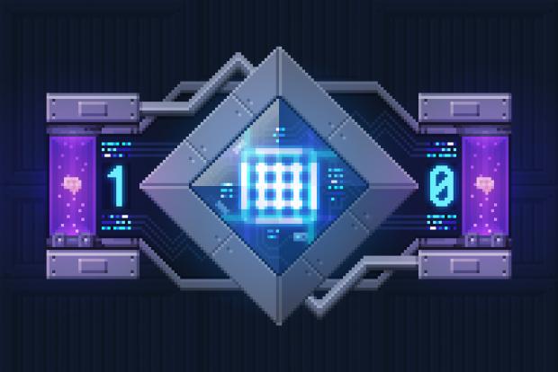 Quantum CPU / Mini Boss