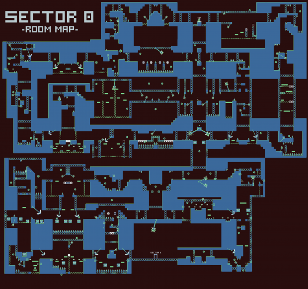 Sector 0 - Room Map -